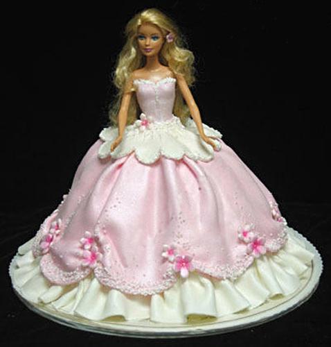 Торт кукла барби из мастики мастер класс